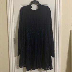Navy Blue Dress
